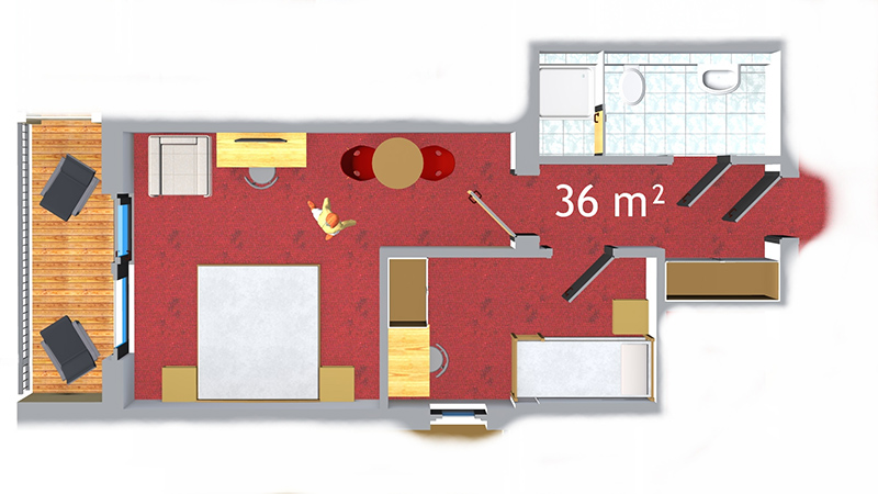 familienappartement hover
